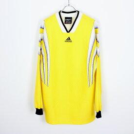 【中古】ADIDAS (アディダス) 90'S MADE IN USA L/S GAME T-SHIRT ゲームシャツ [SIZE:S USED]