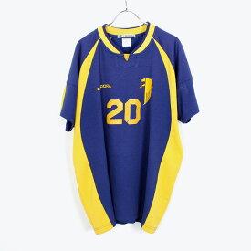 【中古】DIADORA (ディアドラ) 90'S GAME T-SHIRT ゲームシャツ [SIZE:XL USED]