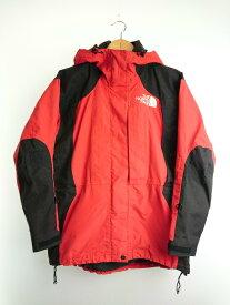 【中古】THE NORTH FACE◆90s/Mountain Light Jacket/マウンテンライトジャケット/GORE-TEX/S/ナイロン/RED【レディースウェア】