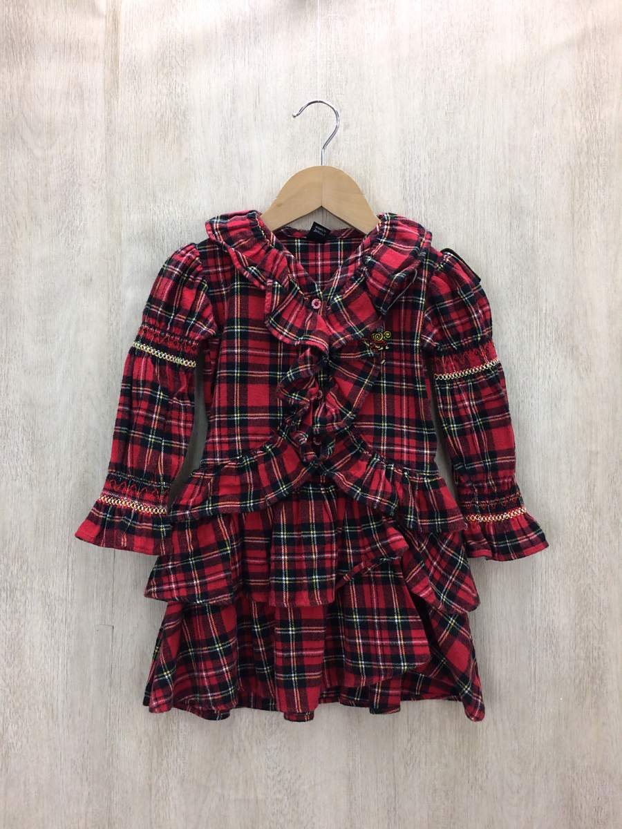 HYSTERIC GLAMOUR◆子供服/95cm/RED【中古】【キッズ】