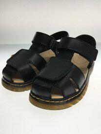 【中古】Dr.Martens◆MOBY II JUNIOR/キッズ靴/12UK/サンダル/ブラック/子供/ジュニア/【キッズ】