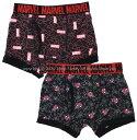 【追跡可能メール便2点まで可】 2枚組 男児 ボクサーブリーフ マーベル&スパイダーマン 2020年版 MARVEL 下着 2p パ…