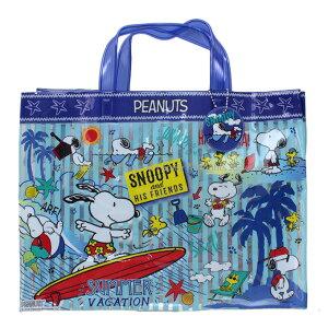 【追跡可能メール便1点まで可】 マチアリ プールバッグ スヌーピー 2019年版 ピーナッツ Peanuts マチあり ビーチバッグ プールバック スイミング キッズ キャラクター 子供用 女の子 女児 男の