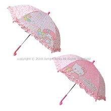 フリル付き子供用手開き傘40cmマイメロキティマイメロディハローキティサンリオ傘かさカサ手開きレイングッズレイン用品雨具子供傘子供かさキッズ子供女の子女児キャラクター062852062845