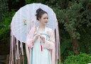 二点送料無料 16色 中国古代漢唐風タッセルフリンジリボン唐傘 中国古代伝統衣装道具 古代からかさ唐傘 唐装・漢…