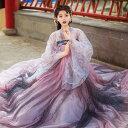 中華風豪華チャイナドレス 中国伝統古典唐装漢服 中華コスプレ衣装 イベント演出衣装 二次元宮廷唐時代衣装  写…