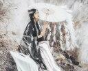 二点送料無料 4色 中国漢唐古風タッセルフリンジ唐傘 中国古代伝統衣装道具 リボン羽毛からかさ唐傘 唐装・漢服中…