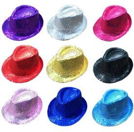 5枚入り!一枚一枚色ご指定可!舞台用ダンス帽子 スパンコール帽子 キャップ イベント学園祭子供用スパンコールcap 大人舞台帽子 11色 ジャズダンス 発表会演出道具 コスプレ帽子