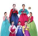 二点送料無料 10色 韓服韓国伝統衣装チマチョゴリ 朝鮮族民族衣装 イベントパーティーコスプレ衣装 写真撮影 舞…