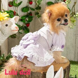 LULUDOLL【ルルドール】ゆめかわシフォンガール 3S,SSサイズ 超小型犬用