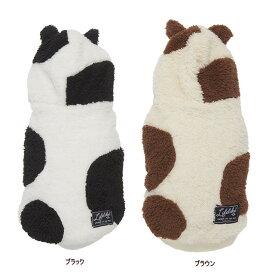 COWもこフーディー 2号-5号サイズ 犬服 冬物ウェア 年賀状 インスタ映え ウシ うし 牛 usi 丑 ブラウン ブラック 犬の服 犬のコスプレ LifeLike ライクライク