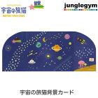 デコレコンコンブルdecoleconcombre七夕inSPACE宇宙の旅猫背景カード
