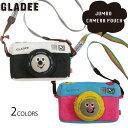 グラディー gladee ジャンボカメラポーチ ( カメラケース スマホケース デジカメ デジタルカメラ カメラ スマートフォンかわいい おし…
