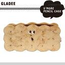 グラディー gladee スモア ペンシルケース ビスケットサンド ビスケット おもしろ ペンケース かわいい 筆箱 大容量 小学生 中学生 高…