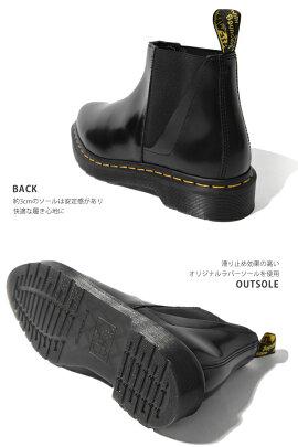 ドクターマーチンDr.MartensPOINTEDBIANCA21603001レディースシューズ黒Blackサイドゴアブーツ靴ショートブーツビアンカカジュアルブランドシンプルスムース大人可愛いおしゃれ
