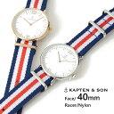 【送料無料】キャプテン&サン 時計 KAPTEN&SON 腕時計 ウォッチ 40mm Racer レーサー レディース/メンズ/ユニセックス送料無料