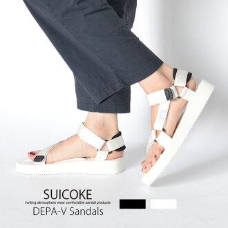 SUICOKE sicock ladies DEPA sport sandal strap belt Sandals double Vibram Vibram sole same day shipping