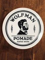 【WOLFMAN 】ウルフマンPOMADE SUPER SHINE 無香料ポマード