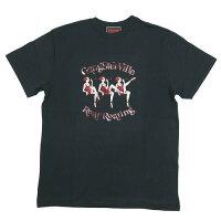 【GANGSTERVILLE】ギャングスタービルTHE STRIPPER - S/S T-SHIRTS(BLACK)メンズTシャツ