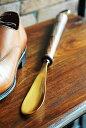 【真鍮製 靴べら おしゃれ シューホーン インテリア 雑貨 ギフト アンティーク調 アンティーク風】真鍮製靴べら