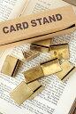 【プライスカード プライスボード 写真立て 20個セット 値札 真鍮 おしゃれ カードスタンド 店舗什器 アンティーク調 …