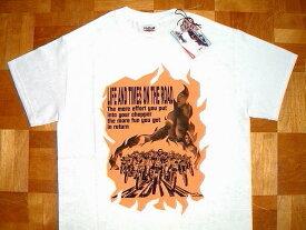 【セール出品】 【REDTAiL レッドテイル】 【ViSE バイス】 限定生産! タトゥーアーティスト コラボ ヘビーオンス コットン生地 プリント 半袖 Tシャツ ≪HORiGYN≫ (WHITE/ホワイト) 「Sサイズ」 Teeシャツ 白 メンズ ハーレー バイカー バイク チョッパー