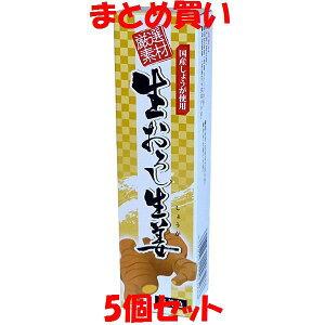 東京フード 生おろし生姜 厳選素材 おろししょうが 国産 しょうが 無着色 チューブ入 40g×5個セット まとめ買い