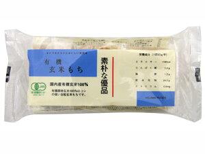 コジマフーズ 有機玄米もち 300g(6切れ入り)