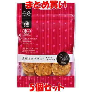 煎餅 有機玄米プラス<キヌア&チアシード> せんべい 40g×5個セット まとめ買い
