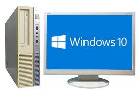 【在宅勤務】【テレワーク】NEC Mate MB-K 液晶セット Windows10 64bit Core i5 4590 メモリー4GB HDD1TB DVDマルチ デスクトップパソコン【中古】【30日保証】1294806