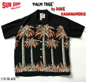 "No.DK37252 DUKE KAHANAMOKU デュークカハナモクS/S SPECIAL EDITION""PALM TREE"""