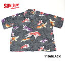"No.SS37466 SUN SURF サンサーフS/S RAYON HAWAIIAN SHIRT""GOLD FISH"""