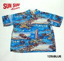 "No.SS37470 SUN SURF サンサーフS/S RAYON HAWAIIAN SHIRT""SURF ON CLOUD NINE"""