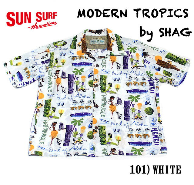 "No.SS37655 SUN SURF サンサーフKEONI OF HAWAII""MODERN TROPICS"""