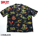 "No.SS37775 SUN SURF サンサーフS/S RAYON HAWAIIAN SHIRT""THE HAWAIIAN GOOD OLD TIMES"""