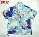 """No.SS38027 SUN SURF サンサーフS/S RAYON HAWAIIAN SHIRT""""GOLD FISH"""""""