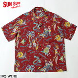 "No.SS38575SUNSURFサンサーフS/SRAYONHAWAIIANSHIRT""HAWAIIANPASSION"""