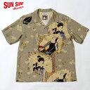"No.SS38715 SUN SURF × 歌川豊国SPECIAL EDITION""柳街梨園 全盛花一対"""