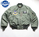 """No.BR13620 BUZZ RICKSON'S バズリクソンズLION UNIFORM INC.type MA-136th Tactical Fighter Wing""""Skyblazers"""""""
