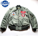 No.BR14113 BUZZ RICKSON'S バズリクソンズLION UNIFORM INC.type MA-177th Tac. Fighter Sqdn 20th Tac. Fighter Wing