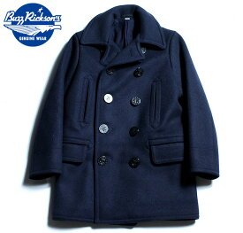 "No.BR14146 BUZZ RICKSON'Sバズリクソンズtype PEA COAT""NAVAL CLOTHING FACTORY""WOOL LINING"