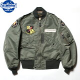 "No.BR14440BUZZRICKSON'SバズリクソンズTypeL-2B""TOPSAPPARELMFG.CO.INC.""15thTAC.RECON.SQ."