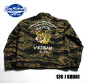 "No.BR1409 BUZZ RICKSON'S バズリクソンズ""TIGER CAMOUFLAGE TOUR JACKET"""