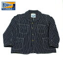 No.HD13789 HEAD LIGHTヘッドライト8oz.SPECIAL WOVEN STRIPE DENIM WORK COAT
