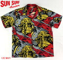 "No.SS36655 SUN SURF Special EditionS/S SHIRTS""GAUGUIN WOODCUT MYSTIC"""