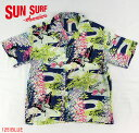 "No.SS36438 SUN SURF サンサーフS/S SHIRTS""WISTERIA&DUCKS"""