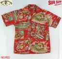 "No.SC36970 MFSC × SUN SURFRock & Roll Shirt""ACTION PACKED"""