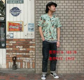 """No.SH36948 STAR OF HOLLYWOOD × VINCE RAYSLUB COTTON SHIRT""""LAS VEGAS"""""""