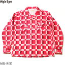"""No.SE28264 STYLE EYES スタイルアイズFLANNEL SPORTS SHIRT""""TRIANGLE & ZIGZAG"""""""