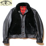 "No.SC80550MFSCミスターフリーダムMadeinU.S.A.COWHIDE×SHEEPSKIN""BLACK""BALOOJACKET"